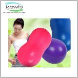Colored 90*45cm Peanut Shape PVC Yoga Ball