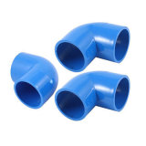 Blue 40mm X 40mm 90 Degree Equal Elbow PVC Pipe