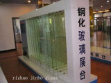 Rizhao Factory Good Quality Heat Strengthened Glass (JINBO)