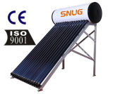 Non Pressure Solar Water Heater, Galvanized Steel Outer