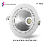 China Epistar Chip 120lm/W Rotatable COB LED Light Fixtures Residential