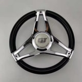 Aluminum Alloy and Plastic / Stainless Steel / Zinc / Plastic Hydraulic Marine Steering Wheel for Ship / Yacht Good Price