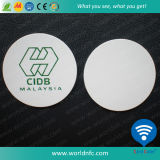 PVC RFID Ntag213 Contactless Logo Printing Smart Coin Card