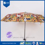 Custom Design Printed Lady Sun Umbrella
