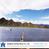 3.2mm Toughened Coated Ultra Clear Solar Glass for Solar Panel
