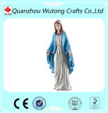 The Blessed Mother Virgin Mary Statue Polyresin Material