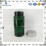 Best Price 5oz Green Pet Plastic Bottle with Metal Cap for Pharmaceutical Packaging