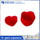 OEM Passed FDA Heart Silicone Cake Mould