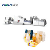 Affordable Price and Fully Automatic Biodegradable Paper Bag Making Machine in Clear Printing