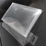 Custom Factory Clear Transparent Small Plastic File folder bags