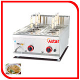 Commercial Gas Counter Top Pasta Cooker Chinese Noodle Cooking Machine
