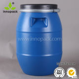 30 Liter HDPE Plastic Blue Empty Drum From China Market