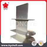 Metal Supermarket Shelf with Round End Unit