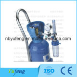 Yf-Yqp-Trolley Medical Oxygen Cylinders-Trolly OEM Color Wholesale Small Oxygen Cylinder