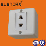 European Style Surface Mounted Wall Socket Outlet (S2009)