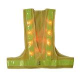 Wholesale LED Flashing Safety Vest Workwear Reflective Vest