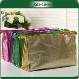 PU Leather Fashion Colorful Reusable Cosmetic Wash Bag