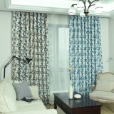 Promotional Cheap Home Curtain Printing Floral Curtain