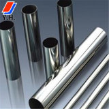 201, 304, 304L, 316, 316L Round Bright Polished Seamless Stainless Steel Pipe
