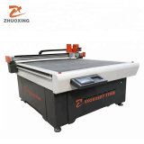 Sofa Material CNC Cutting Machine Cheap Flatbed Digital Cutter Die Less Cutting Machine Factory Zhuoxing