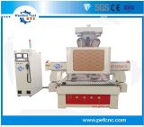 Tool Changer CNC Router with Rotating Spindle for Hole Punching