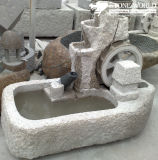 Gardening Products, Water Sink, Stone Basin, Garden Water Carving (LA057)