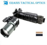 Erains Tac Optics Tactical 550 Lumens Dura Aluminum Grip & LED Light LED Flashlight with Reading Lamp Attached with Qd Mount