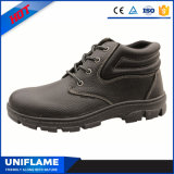 Rubber Sole Footwear Leather Safety Work Shoes Ufa046