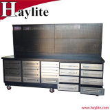 USA General Metal Workbench with 20 Drawers