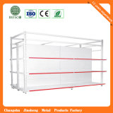 Strong Double Sides Hypermarket Display Rack with Competitive Prices