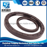 NBR FKM Vmq PTFE Framework Rubber with Double Lips Oil Seal