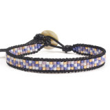 European and American Fashion Vintage Beads Woven Bracelet