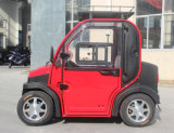 Four Wheel Electric Mini Car Double Seats Motor Power 3kw 60V 120ah