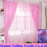 Double Flocking Curtain for Home Curtain in Curtain