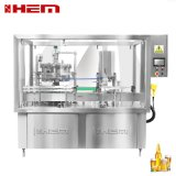12 Heads 28/410mm Lotion Pump Fliptop Cap Hand Soap Bottle Filling Capping and Labeling Machine