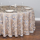 High Quality Polyester Satin Tablecloth Table Cover on Promotion (JRD645)