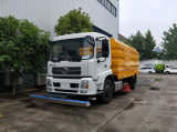 Dongfeng 4X2 5-10 Cbm Stainless Steel Road Sweeper Street Sweeper Street Cleaning Machine Sweeper