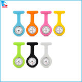 China Manufacturer Cheap Silicone Nurse Watch with Ce