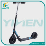 New Style Adult Kick Scooter with Rubber Inflatable Wheels for Sale