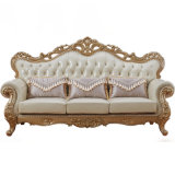 Home Furniture Handmade Leather Sofa from Foshan Furniture Factory