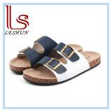 New Men Sport Leather Sandal Cork Sole Sandals