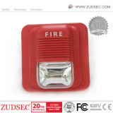 Warning Sound Strobe Fire Alarm Siren with Three Kinds Sound Alarm Optional