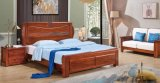 Best Selling Products Double Fashion Design Cheap Modern Wooden Bed