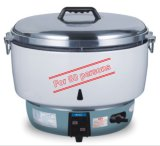 ETL Approved Gas Rice Cooker 10liter with Cast Aluminum Innerpot for 50 Persons