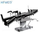 304 Full Stainless Steel Hospital Supplies Universal Medical Manual Bed Operating Table (HFMH3008AB)