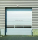 Hard panel Rapid Rolling Door Ce Certified