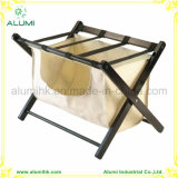 Folding Luggage Rack with Nylon Bag for Hotel Home School