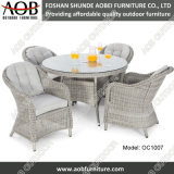 Wholesale Garden Home Outdoor Furniture PE Rattan Round Table Chair