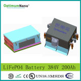 384V 200ah Lithium LiFePO4 Battery Electric Vehicle Battery