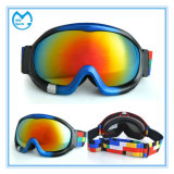 PC Coated Prescription Skiing Goggles with Elastic Head Bands
